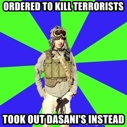 Wannabe Army Kid - Ordered to kill terrorists Took out dasani's instead