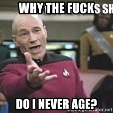 Patrick Stewart WTF - wHY tHE fUCK Do I never age?