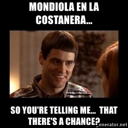 Lloyd-So you're saying there's a chance! - Mondiola en la costanera... so you're telling me...  that there's a chance?