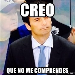 Dallas Eakins - creo que no me comprendes