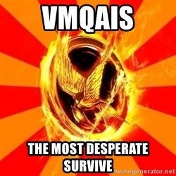 Typical fan of the hunger games - vmqais the most desperate survive