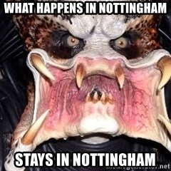 Vagina Predator - What happens in nottingham stays in nottingham