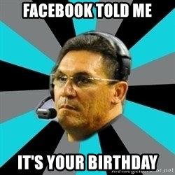 Stoic Ron - facebook told me it's your birthday