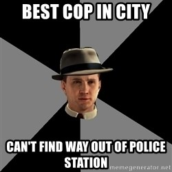 L A Noire Cole - Best cop in city can't find way out of police station