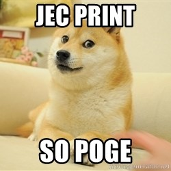 so doge - Jec print so poge