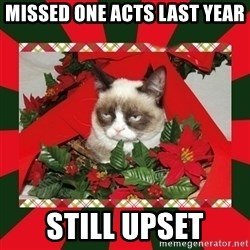 GRUMPY CAT ON CHRISTMAS - missed one acts last year still upset