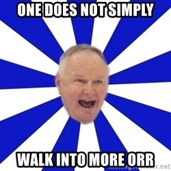 Crafty Randy - one does not simply walk into more orr