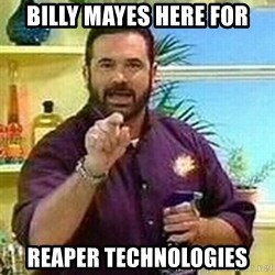 Badass Billy Mays - Billy Mayes Here for Reaper technologies