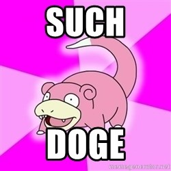 Slowpokememe - SUCH DOGE