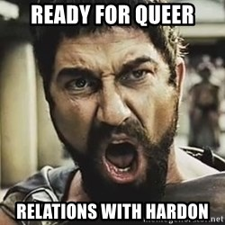 This Is Sparta Leonidas - ready for queer relations with hardon