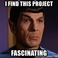 spock eyebrow - I find this project fascinating