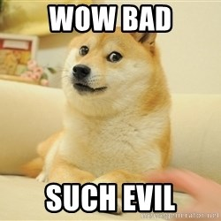 so doge - wow bad such evil