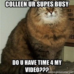 ZOE GREAVES DTES VANCOUVER - colleen ur supes busy do u have time 4 my video???
