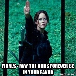 katniss la piojenta -  finals - may the odds forever be in your favor