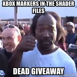 charles ramsey 3 - Xbox markers in the shader files dead giveaway