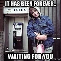 ZOE GREAVES TIMMINS ONTARIO - it has been forever.. waiting for you