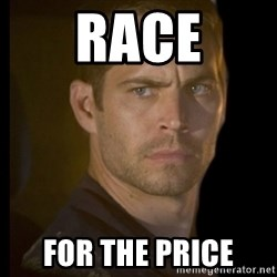 paul walker - Race For the price