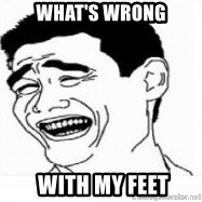 Yao Ming 5 - What's wrong  with my feet