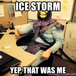 business skeletor - ice storm yep, that was me