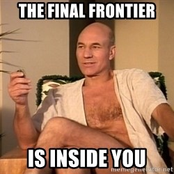 Sexual Picard - the final frontier is inside you