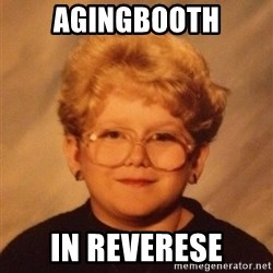 60 year old - Agingbooth in reverese