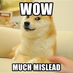 Original Doge - WOW MUCH MISLEAD