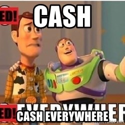Toy Story Everywhere - Cash Cash everywhere