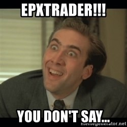 Nick Cage - epxtrader!!! you don't say...