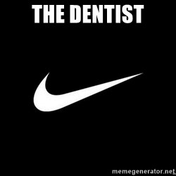 Nike swoosh - The dentist