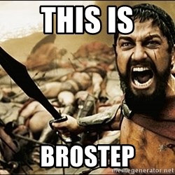 This Is Sparta Meme - This is brostep