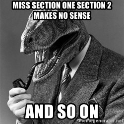 Real_Life_Philosoraptor - miss section one section 2 makes no sense and so on