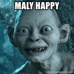 My Precious Gollum - maly happy