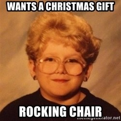 60 year old - wants a christmas gift rocking chair