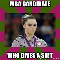 Kayla Maroney - MBA Candidate who gives a sH!T