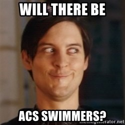 Peter Parker Spider Man - WILL THERE BE ACS SWIMMERS?