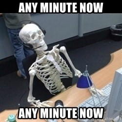 Skeleton computer - Any minute now any minute now