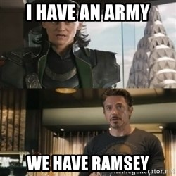 Shermaniator - I HAVE AN ARMY we have ramsey