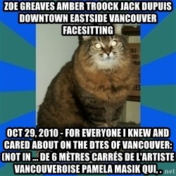 AMBER DTES VANCOUVER - ZOE GREAVES AMBER TROOCK jack dupuis downtown eastside vancouver facesitting Oct 29, 2010 - For everyone I knew and cared about on the DTES of Vancouver: (not in ... de 6 mètres carrés de l'artiste vancouveroise Pamela Masik qui, .