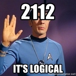 Blessing of spock be with you - 2112 It's Logical