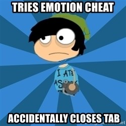 Poptropican - tries emotion cheat  accidentally closes tab