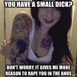 Alyssa Rosales - You have a small dick? Don't worry, it gives me more reason to rape you in the anus