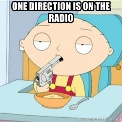 Suicide Stewie - one direction is on the radio