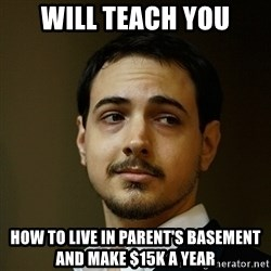 Elitist Artist Noah - Will teach you How to live in parent's basement and make $15k a year