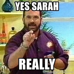 Badass Billy Mays - yes sarah really