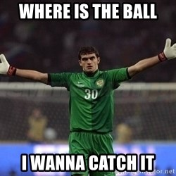 Real Goalkeeper - Where is the ball i wanna catch it