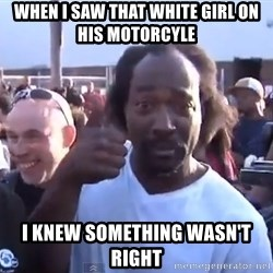 charles ramsey 3 - When I saw that white girl on  his motorcyle I knew something wasn't right