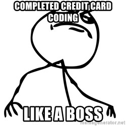 Like a boss HD - Completed Credit card coding LIke a Boss