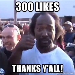 charles ramsey 3 - 300 LIKES THanks y'all!