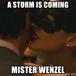 Storm Coming - A storm is coming  Mister Wenzel