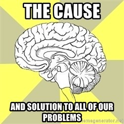 Traitor Brain - the cause  and solution to all of our problems